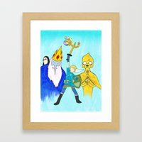 The Legend of Bubblegum: Skyward Jake Framed Art Print