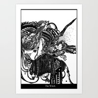 The Witch Art Print