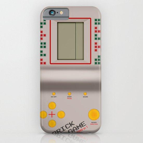 brick game iPhone & iPod Case
