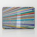 Colored Lines On The Wall iPad Case