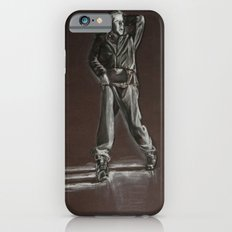 Black and White Drawing iPhone 6s Slim Case