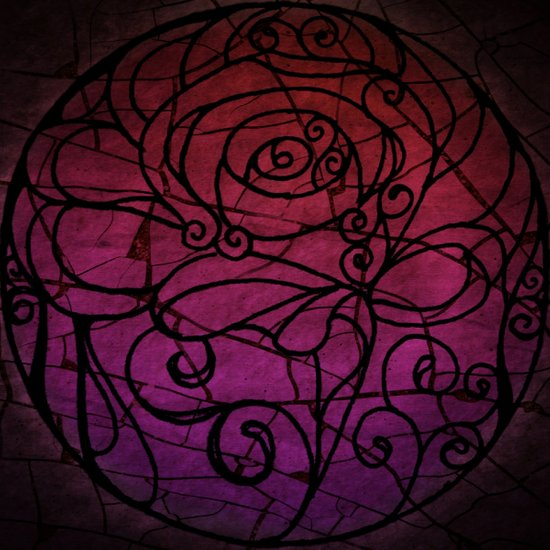 Scarred Rose Art Print