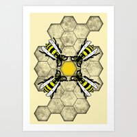 Art Print featuring Honey by Eric Weiand