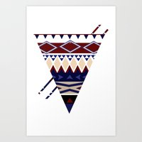 MellowToneTriangle Art Print