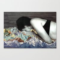 Blankets Canvas Print