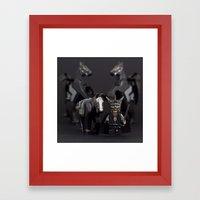 Colgate Smile Framed Art Print