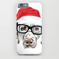 Christmas Weimaraner iPhone 6 Slim Case