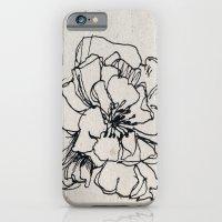 Flower Hairpin iPhone 6 Slim Case