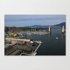 Sea Market Canvas Print