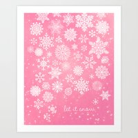 Let It Snow - Let It Sno… Art Print