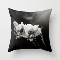 Anemonish Throw Pillow