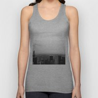 New York In Black And Wh… Unisex Tank Top