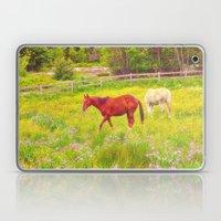 Horses Paradise Laptop & iPad Skin