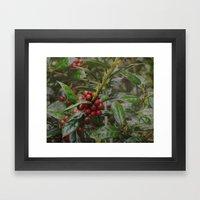Holly-luia Framed Art Print
