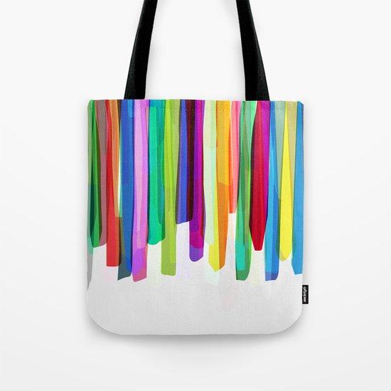 Colorful Stripes 2 Tote Bag
