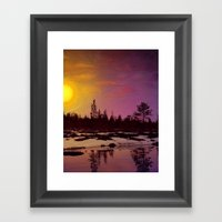 Day - From Day And Night… Framed Art Print