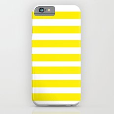 Yellow Lines iPhone 6s Slim Case