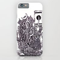 iPhone & iPod Case featuring The Samurai  by OKAINA IMAGE
