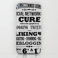 iPhone & iPod Case featuring Social remedy by Farnell
