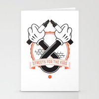 Streets For The Kids Stationery Cards
