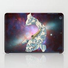 Koi japanese fish number two iPad Case