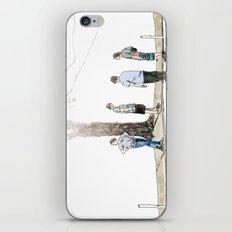 tree plus people iPhone & iPod Skin