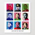 Dictart Canvas Print