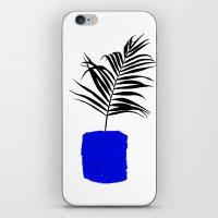 Blue Pot iPhone & iPod Skin
