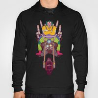 Krusty the Biker Gang Neo-Tokyo Clown Hoody