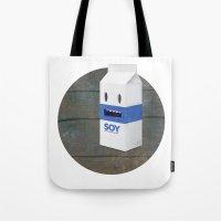Soy Milk Tote Bag