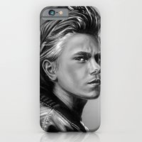 iPhone & iPod Case featuring + The Wolf + by Sandra Jawad