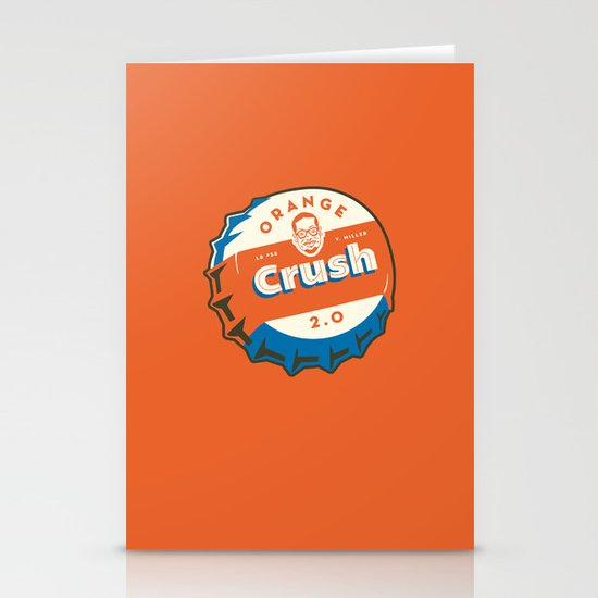 Denver's Orange Crush Defense TWO POINT OH! Stationery Card