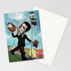 Superheroes SF - For the love of Coffee Stationery Cards