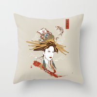 Nihonsei Throw Pillow
