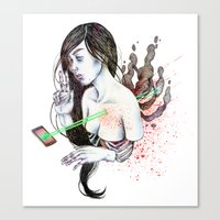 21st Century Escapist  /… Canvas Print