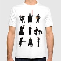 Men in Black Mens Fitted Tee White SMALL