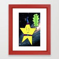 Star Warrior  Framed Art Print