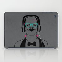 Hipsterstein /gray iPad Case