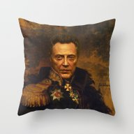 Christopher Walken - Rep… Throw Pillow