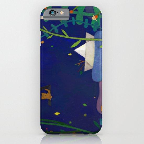 Attic cat iPhone & iPod Case
