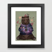 Fredrik Framed Art Print