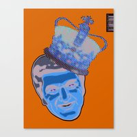 Blue Liberace  Canvas Print