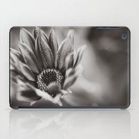 Flower in Black and White iPad Case