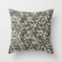 CUBOUFLAGE MULTI (SMALL) Throw Pillow