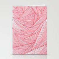 Red Feels Stationery Cards