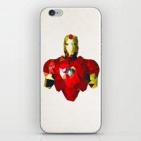 Polygon Heroes - Iron Man iPhone & iPod Skin