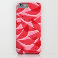 iPhone Cases featuring Watermelon by Georgiana Paraschiv