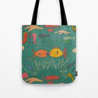 Fishy Kisses Tote Bag