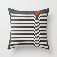 Visual Melt Throw Pillow