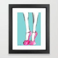 Giuseppe Zanotti Shoes Framed Art Print